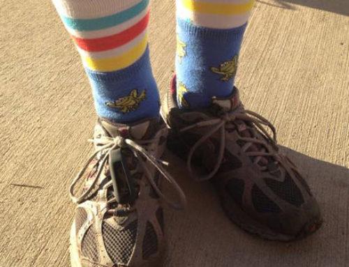 go Vibrant Silly Sock Walk