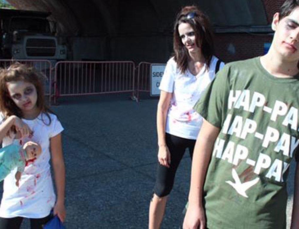 go Vibrant Zombie Walk