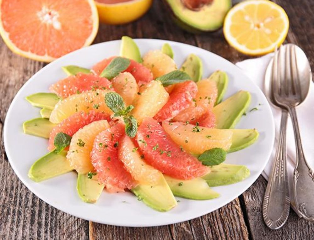 Vegan Grapefruit Avocado Salad: Two Ingredients to Jumpstart Weight Loss